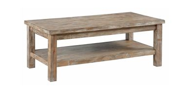 rustic coffee table for rent