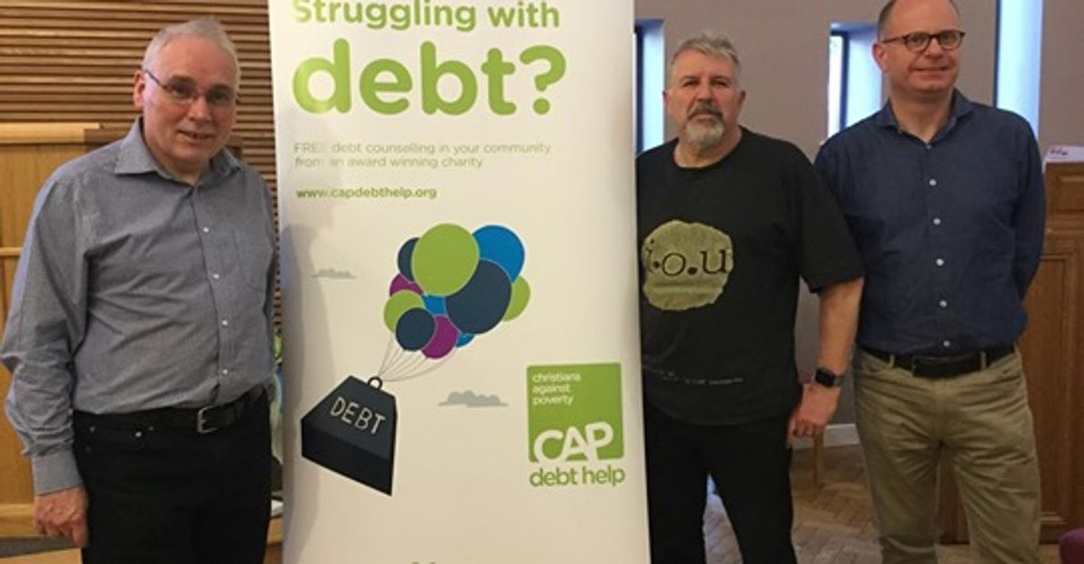 Free help with tour debts from  Christians Against Poverty (CAP)