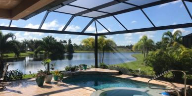 building contractors, we build new lanais, pool enclosure, porches in Sarasota Florida