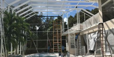 we're a pool cage company in Sarasota with insurance and licence. How much does a new pool cage cost