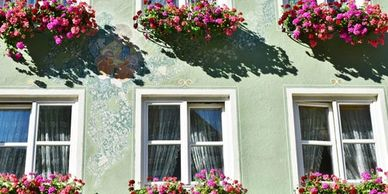 European Window Box Cages