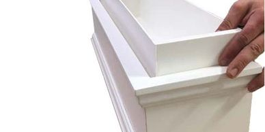 Plastic Liners and Inserts for Window Boxes