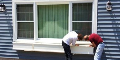 How to Install a Window Box on Siding