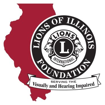 Lions of Illinois Foundation website and logo