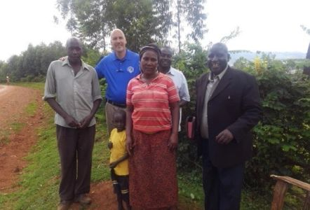 A Pastor friend of MFF donated the land for the Lisa's Hope Orphanage