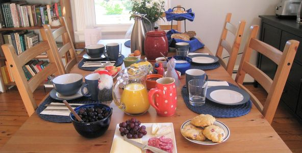Complimentary Breakfast in Mahone bay bed and breakfast