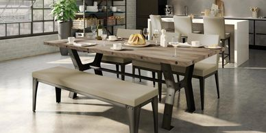 Pictured above is our best seller Parade Table.