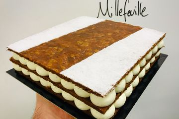 millefeuille bakery dessert desserts cafe coffee belfast lazy claire patisserie