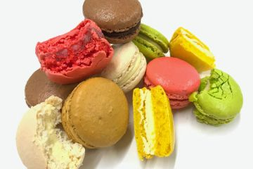 macarons french patisserie cafe coffee belfast lazy claire pastry desserts bakery