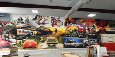 Wall Murals and Wall Wraps