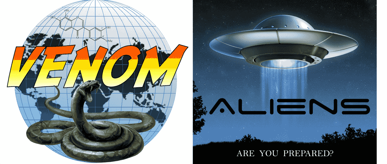 Venom and Alien play at home escape game