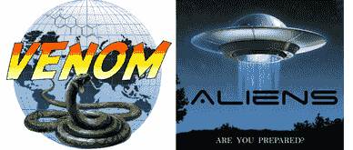 Venom and Aliens play-at-home escape games