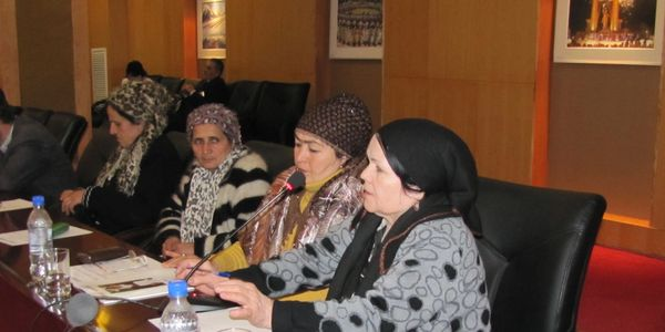Tajikistan agricultural land rights round table USAID Land Reform Project