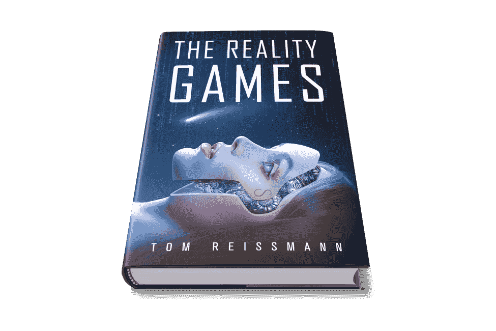 The Reality Games Science Fiction Novel will soon be available on Amazon as a paperback edition and