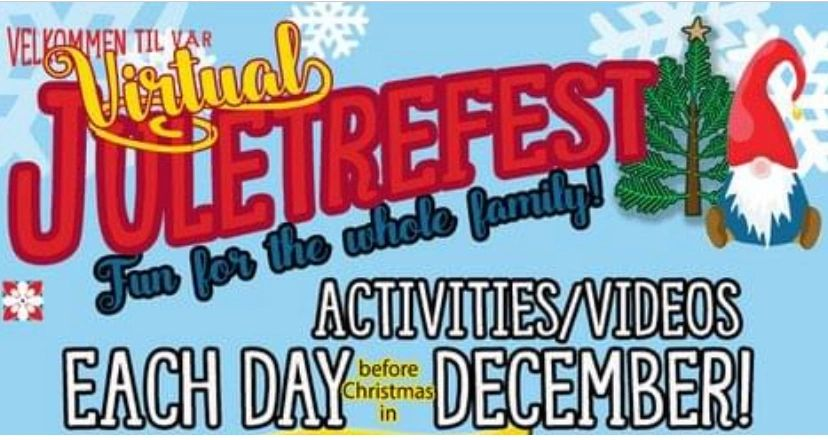 Join us for our virtual Juletreefest!