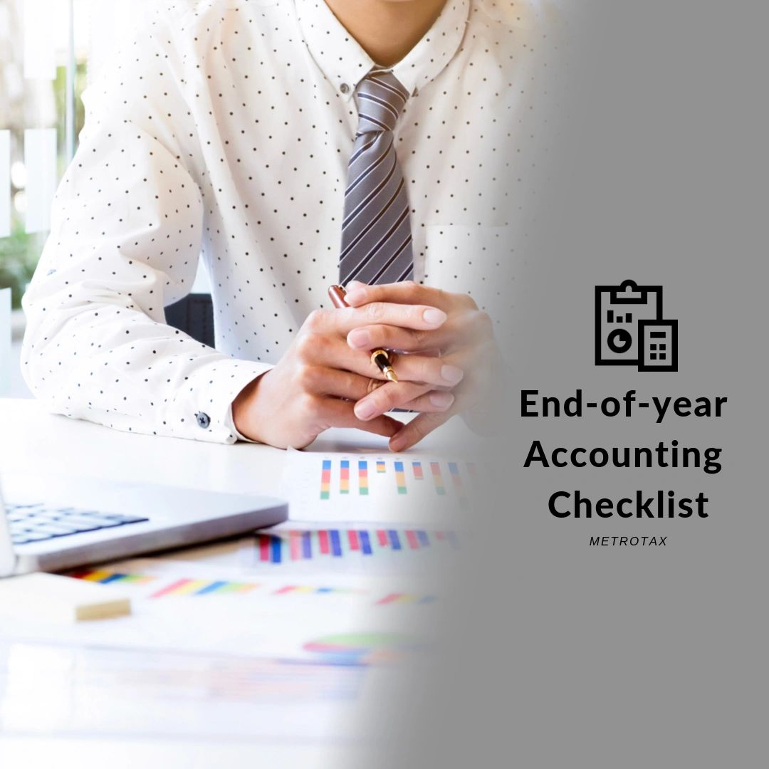 END-OF-YEAR ACCOUNTING CHECKLIST