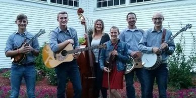 Anderegg Family bluegrass band