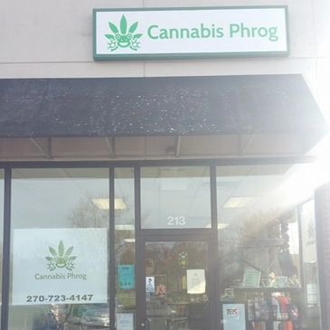 Cannabis Phrog store located at 213 Culpepper St, Bardstown KY 40004. Voted best Hemp and CBD shop in Nelson County 2018 and 2019. Also offer herbal remedies and offer Ionic Foot Detox.