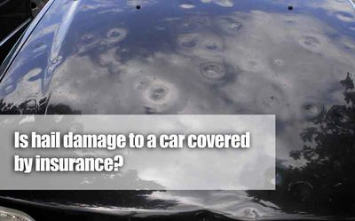 Hail Damage is a Comprehensive Claim