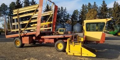 1990 New Holland 1085 Diesel Bale Wagon For Sale