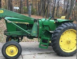 1967 JOHN DEERE 2510 For Sale In Elk Mound, Wisconsin 54739