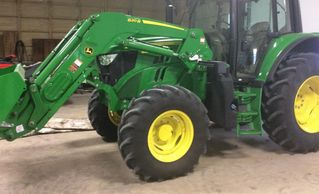 2017 JOHN DEERE 6110M For Sale
