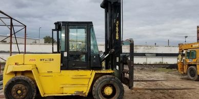 Hyster 28,000Lb. H280XL, 2-Stage, Perkins Diesel, Pneumatic Tires 49548