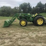 2015 JOHN DEERE 5045E For Sale In Cincinnati, Ohio 45233