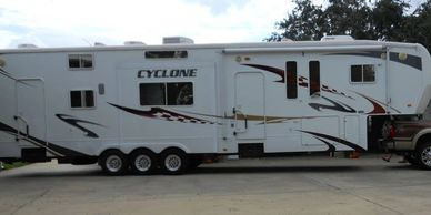 2008 Cyclone 4012 Toyhauler For Sale In Ragly, Louisiana 70657