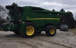 2013 JOHN DEERE S660 For Sale