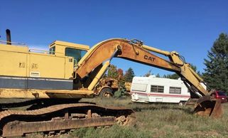 1991 Cat 225DL Excavator For Sale In Iron Mountain, MI 49801