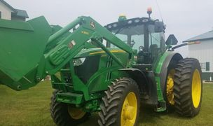 2014 JOHN DEERE 6190R For Sale