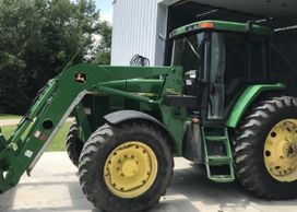 2001 JOHN DEERE 7210 For Sale In Kandiyohi, Minnesota 56251