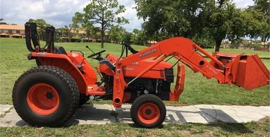 2008 KUBOTA L4400 For Sale In Lake Worth, Florida