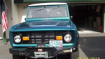 1976 Ford Bronco For Sale