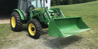 2011 JOHN DEERE 5083E TRACTOR FOR SALE IN MT. PEASANT PA 15666