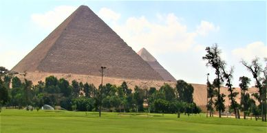 EGYPT Tourism USA - Golfing included in private custom-designed travel itineraries in Egypt