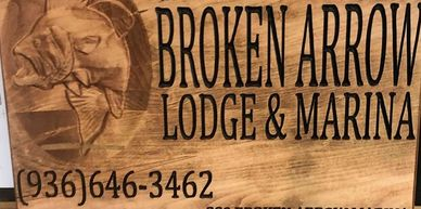 Broken Arrow Lodge and Marina, Lake Livingston, Texas