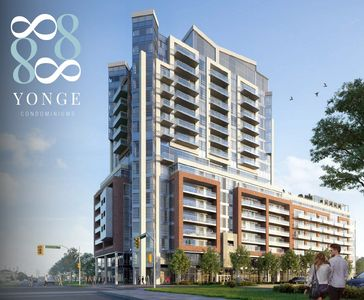 New Condos at Yonge Street and Highway 7 in Richmond Hill, Ontario