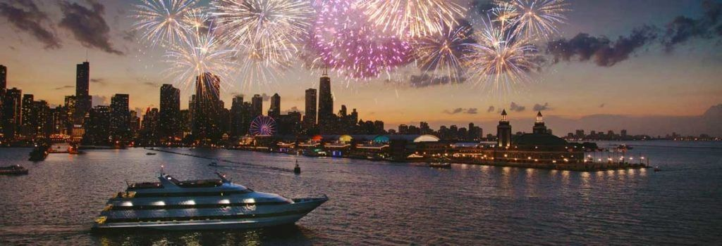 Where to watch 4th of July Fireworks In the State of Illinois