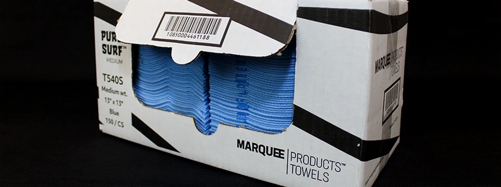 Marquee Products Towels promote a clean and healthy environment.