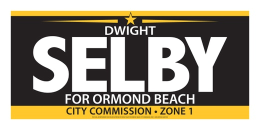 Dwight Selby, Ormond Beach City Commission Zone 1