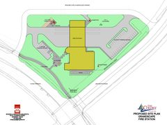 Schematic Design Phase Site Plan