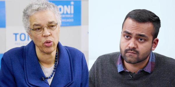 Sean Sankalp Raju Toni Preckwinkle Interview Chicago's New Boss