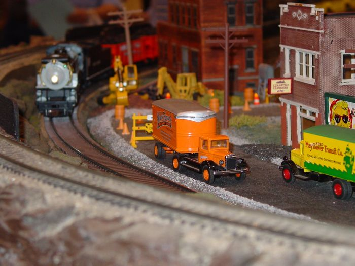 Busy day on the COSG Layout