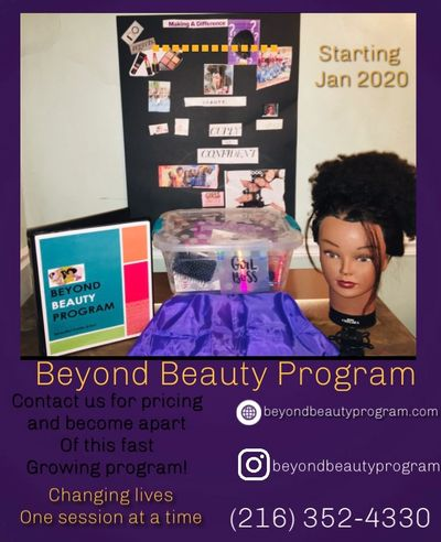 Beauty Kit and supplies needed for the Beyond Beauty Program