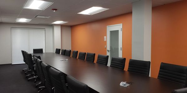 commercial tenant fit out conference room interior design