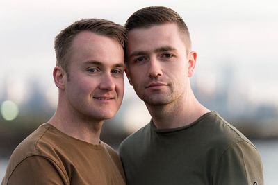 Sam & Stu - Same sex photographer for Australian travellers in Melbourne by Love is Love Photography