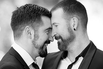 Lucas & Tim - gay wedding photographer for Daylesford same sex weddings by Love is Love Photography