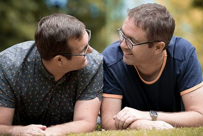 Brian & Allan - portrait photography for same sex travellers in Melbourne - Love is Love Photography